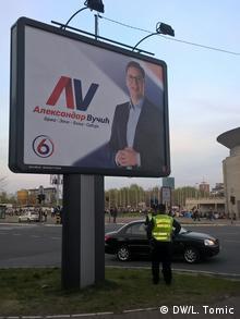 Serbien Wahlkampf 2017