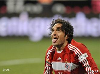 Bayern Munich soccer player Luca Toni