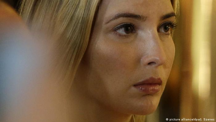 article news photo ivanka trump angela merkel raises eyebrows