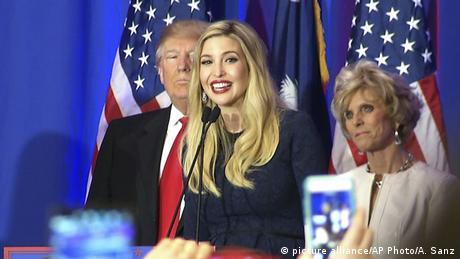 Ivanka Trump - Wahlkampf für Donald Trump (picture alliance/AP Photo/A. Sanz)