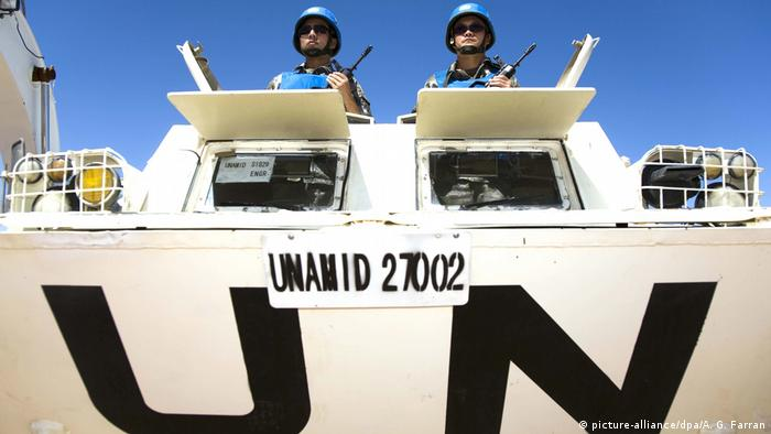 UN Mission UNAMID in Darfur. (picture-alliance/dpa/A. G. Farran)