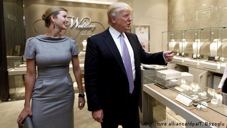 Ivanka und Donald Trump zur Eröffnung der Trump Towers Mall in Istanbul (picture alliance/dpa/T. Bozoglu)