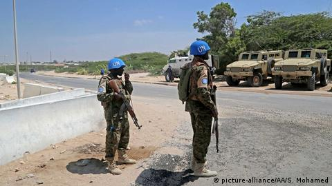 UN troops in Somalia. (picture-alliance/AA/S. Mohamed)