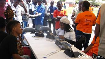 Angola Registrierung Wahlen