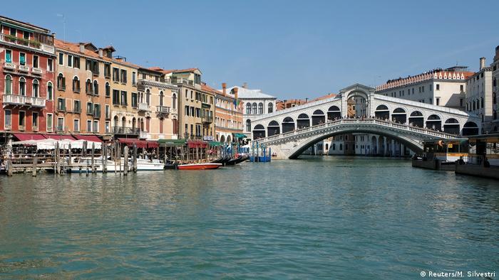 Мост Риальто в Венеции