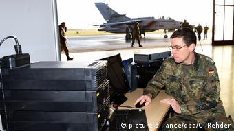 Bundeswehreinsatz - Luftbildauswertung