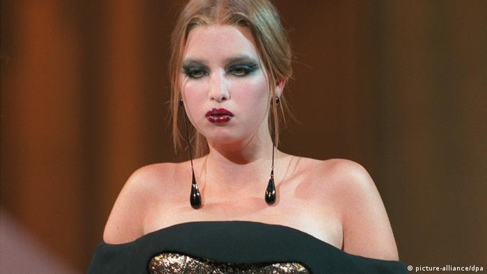 Ivanka Trump - Model für Haute-Couture mit 16 (picture-alliance/dpa)