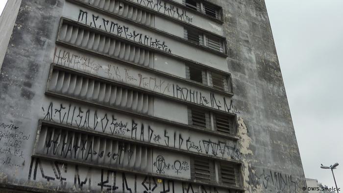 Street Art São Paulo Graffiti Pixação Brasilien (DW/S.Smolcic)