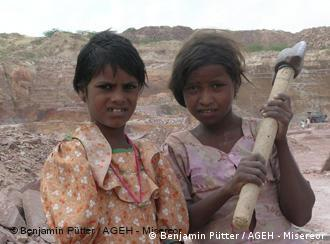 Child labour is widespread in South Asia -- in mining and in agriculture