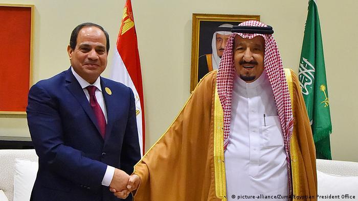 Jordanien Treffen König Salman Abdel al-Sisi