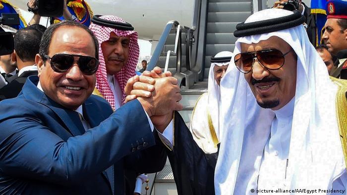 Ägypten Treffen König Salman Abdel al-Sisi (picture-alliance/AA/Egypt Presidency)