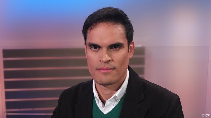 Johan Ramírez, corresponsal de DW