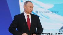 Putin beim International Arctic Forum in Arkhangelsk