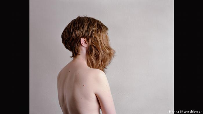 Self-portrat by Anna Shteynshleyger (Anna Shteynshleyger)