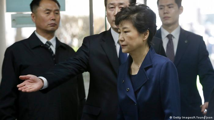 Park Geun Hye (Getty Images/A.Young-Joon)