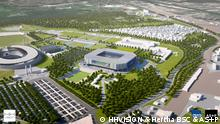 Hertha BSC geplantes neues Stadion