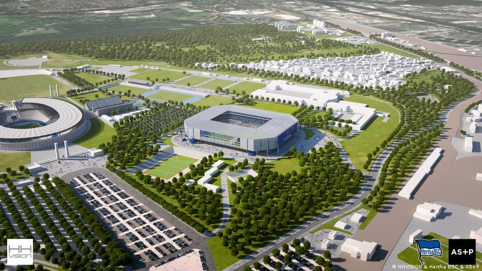Neues Stadion Hertha Bsc