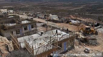 Строительство еврейских поселений на Западном берегу реки Иордан