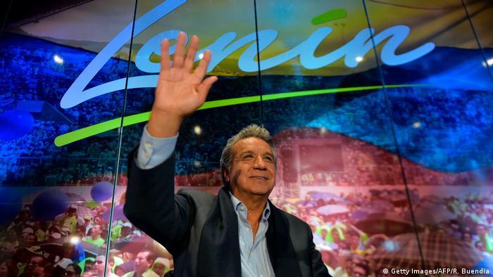 Ecquador | Wahlkampf Lenin Moreno (Getty Images/AFP/R. Buendia)