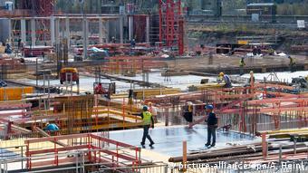 Οι κατασκευές έχουν τονώσει σημαντικά τη γερμανική οικονομία τα τελευταία χρόνια