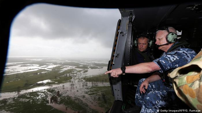 Australien Wirbelsturm Debbie Auswirkungen (Getty Images/AFP/G. Ramage)