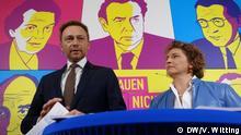 03.2017 Parteivorsitzende Christian Lindner und FDP-Generalsekretärin Nicola Beer (Berlin, Deutschland)