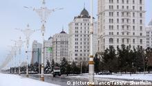 Turkmenistan Straße in Ashgabat
