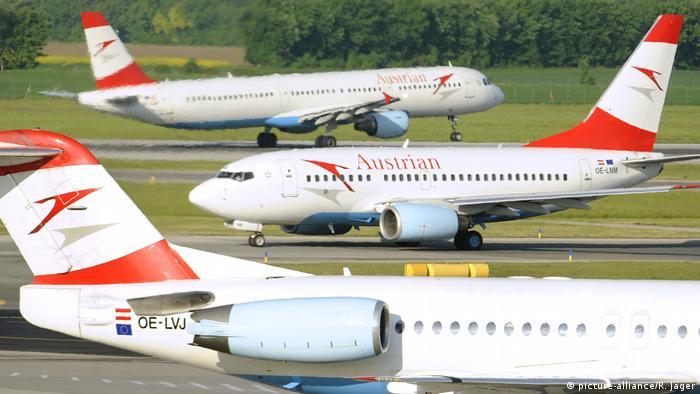 Австрія планує завершти епоху дешевих авіаквитків