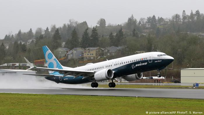 Boeing 737 Max First Flight (picture-alliance/AP Photo/T. S. Warren)