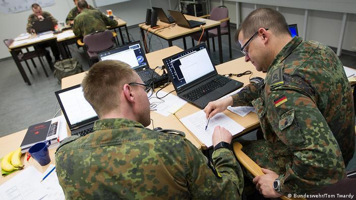 Солдаты немецких кибервойск
