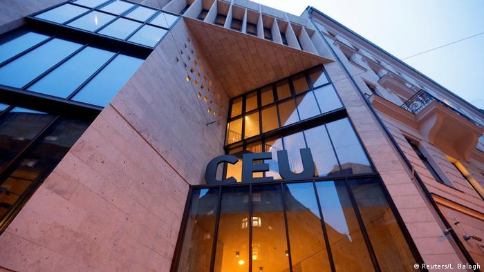 Ungarn Central European University in Budapest