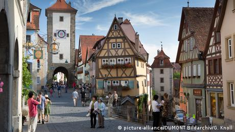 Deutschland Stadt Rothenburg ob der Tauber