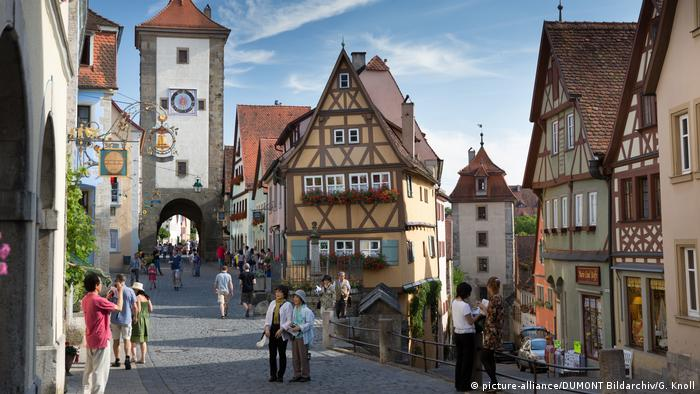 Deutschland Stadt Rothenburg ob der Tauber (picture-alliance/DUMONT Bildarchiv/G. Knoll)