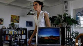 Yoani Sánchez Bloggerin in Kuba