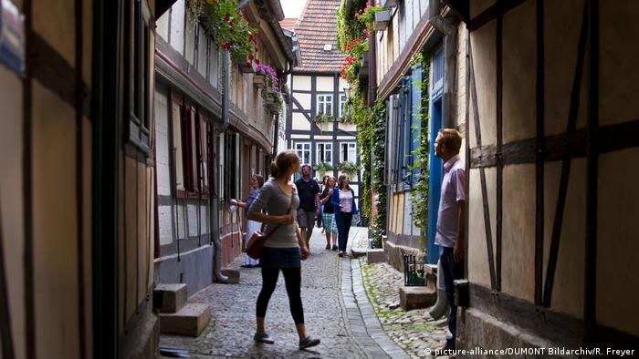Deutschland Stadt Quedlinburg (picture-alliance/DUMONT Bildarchiv/R. Freyer)