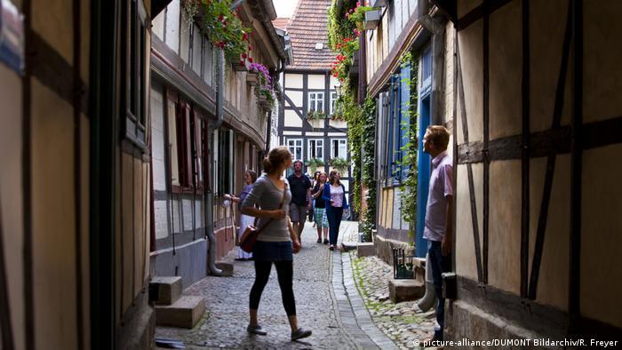 Ruela em Quedlinburg
