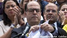 Venezuela Julio Borges zerreißt Urteil des Obersten Gerichtshofs