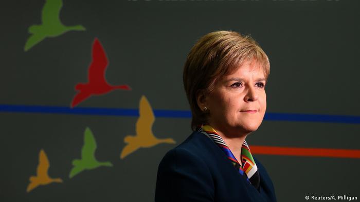 Schottland, Erste Ministerin Nicola Sturgeon (Reuters/A. Milligan)