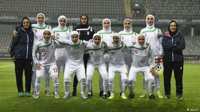 Vietnam Iranische Damen-Fußball-Nationalmannschaft (isna.ir)