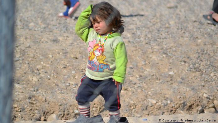 Bildergalerie - Wie irakische Kinder unter dem Krieg gegen den IS leiden (Courtesy of Friedensbrücke - Gelder)
