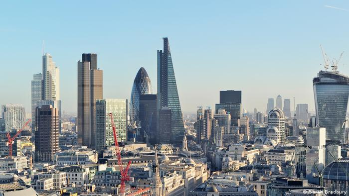 Fintech London | Skyline Finanzdistrikt