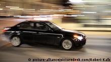 Wien, Austria - March 06, 2013: schwarzer BMW. - 20130306_PD9766 |