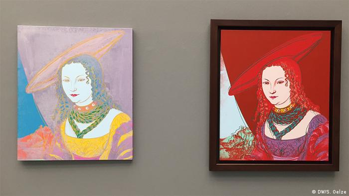 Andy Warhol's Portraits of a woman (after Cranach), 1985 (DW/S. Oelze)