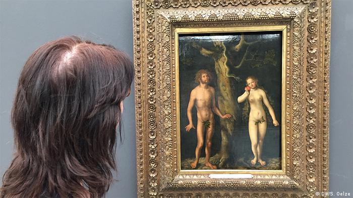 Adam and Eve painting, 1502 (DW/S. Oelze)