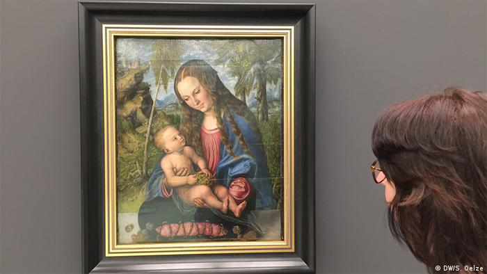 Madonna with child painting (DW/S. Oelze)