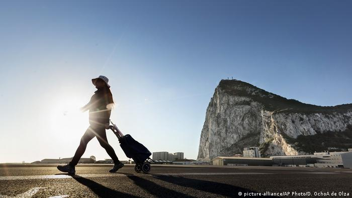 Spanien - Gibraltar Brexit (picture-alliance/AP Photo/D. OchoA de Olza)