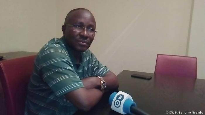 Guilherme Silva, secretário-geral do Sindicato dos Professores Angolanos (SINPROF)