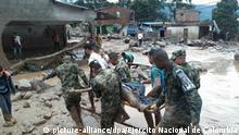 Kolumbien   Mehr als 90 Tote bei Überschwemmungen in Kolumbien