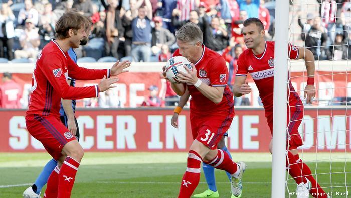 USA Fußball Montreal Impact - Chicago Fire Sebastian Schweinsteiger (Getty Images/D. Buell)