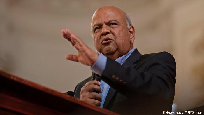 Pravin Gordhan (Getty Images/AFP/G. Khan)
